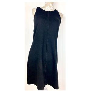 Athleta Sleeveless Racerback Dress Black